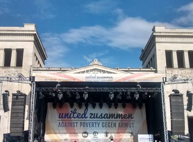 LIVE EVENT BLOG: United #AgainstPoverty / Zusammen #GegenArmut